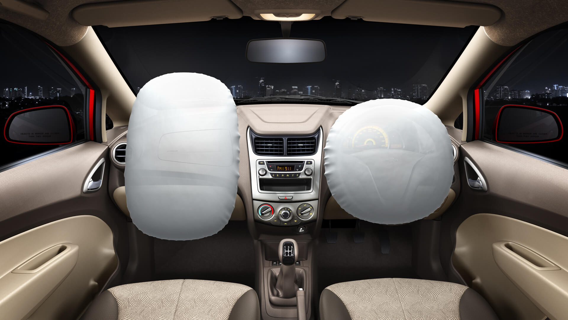 All cars in India from 2019 to be fitted with mandatory airbags,seat belt reminder, speed alerts above 80km/hr and parking sensors