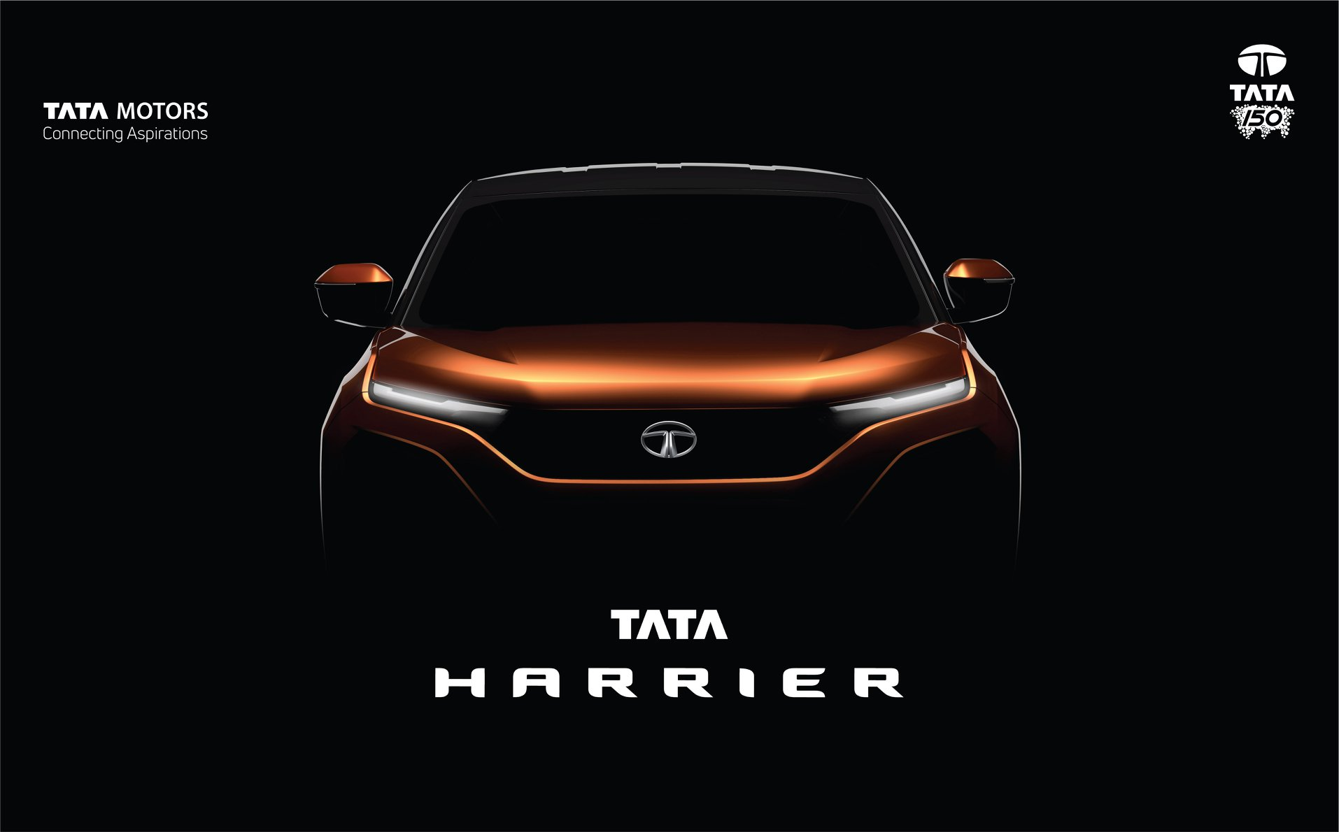 Tata H5X Concept SUV officially named Tata Harrier