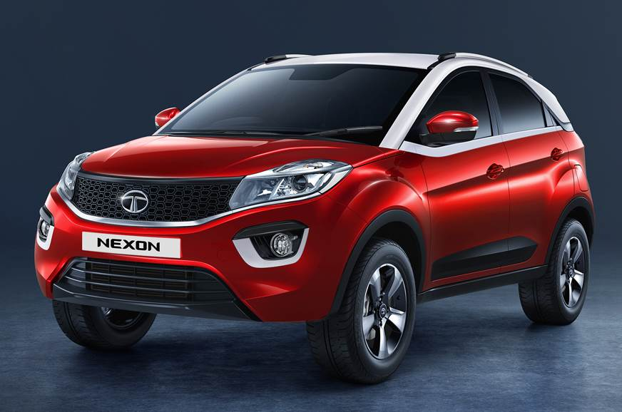 Tata launches the AMT gearbox for the Nexon's mid variant (Nexon XMA)