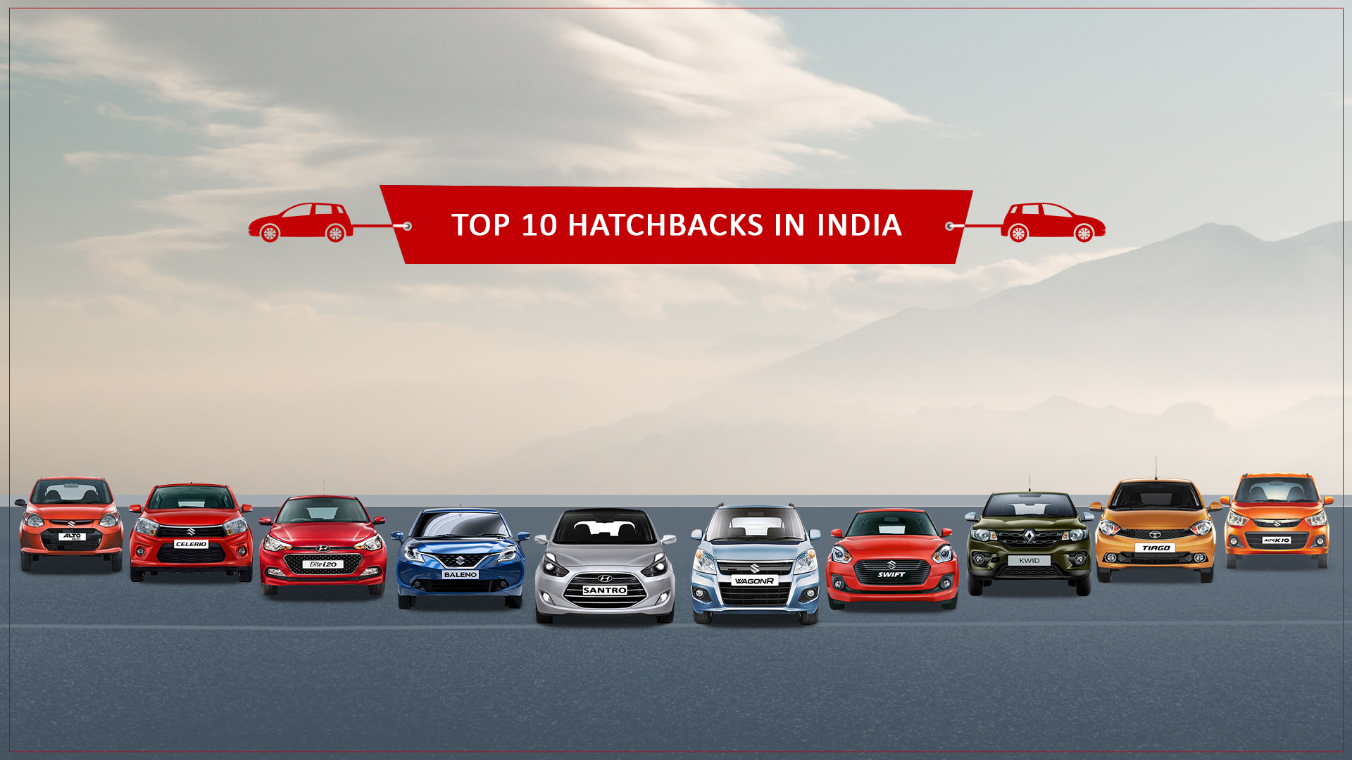 Top 10 hatchback cars in India (Updated 2018)