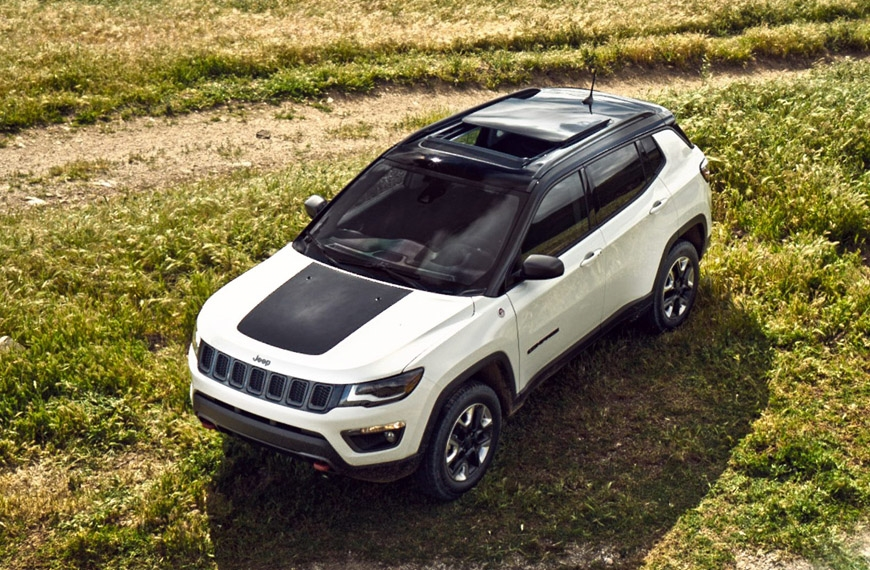 Jeep Compass Trailhawk booking open