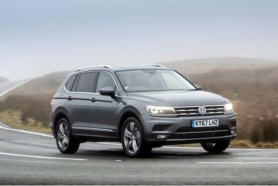Volkswagen Tiguan Allspace to be launched in India by 2020