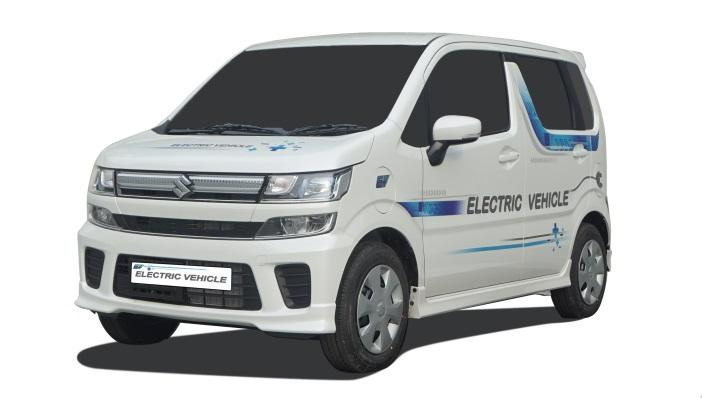 Maruti Suzuki Wagon-R EV in Development