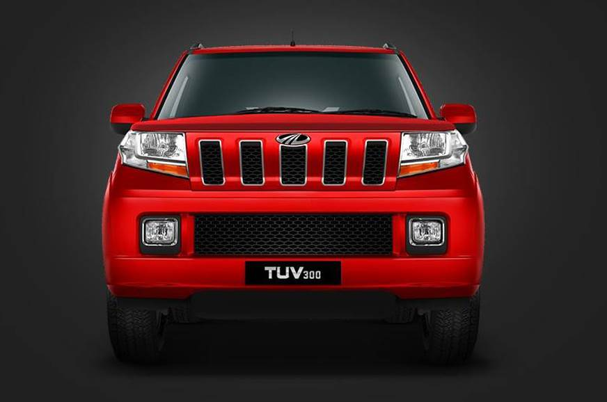 Mahindra working on the TUV 300 facelift