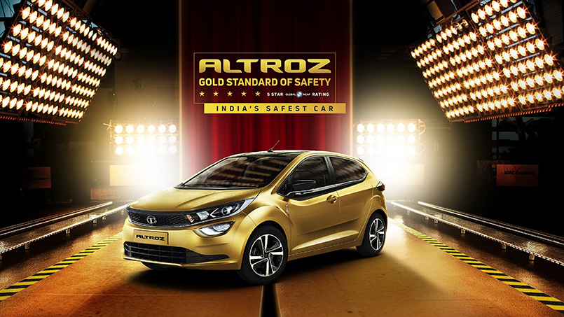 NCAP Report : Tata Altroz Car Received 5 Star Safety Rating