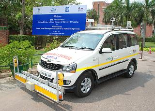 Condition of highways to be checked with the help of a modified vehicle