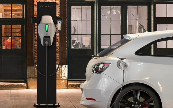 Ather Energy launches Electric Vehicle charging stations in Bengaluru.