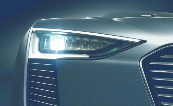 Audi developing Matrix Laser headlamps