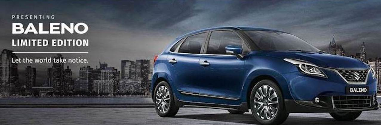 Maruti Suzuki Reveals The Baleno Limited Edition