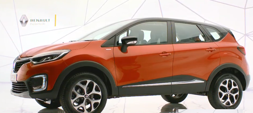 Renault Captur to be launched in India on the 6th of November 2017