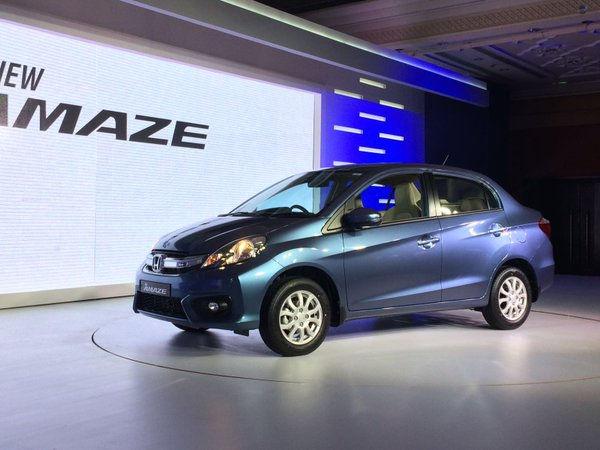 Honda Amaze Facelift Launched at Rs. 5.29 lac