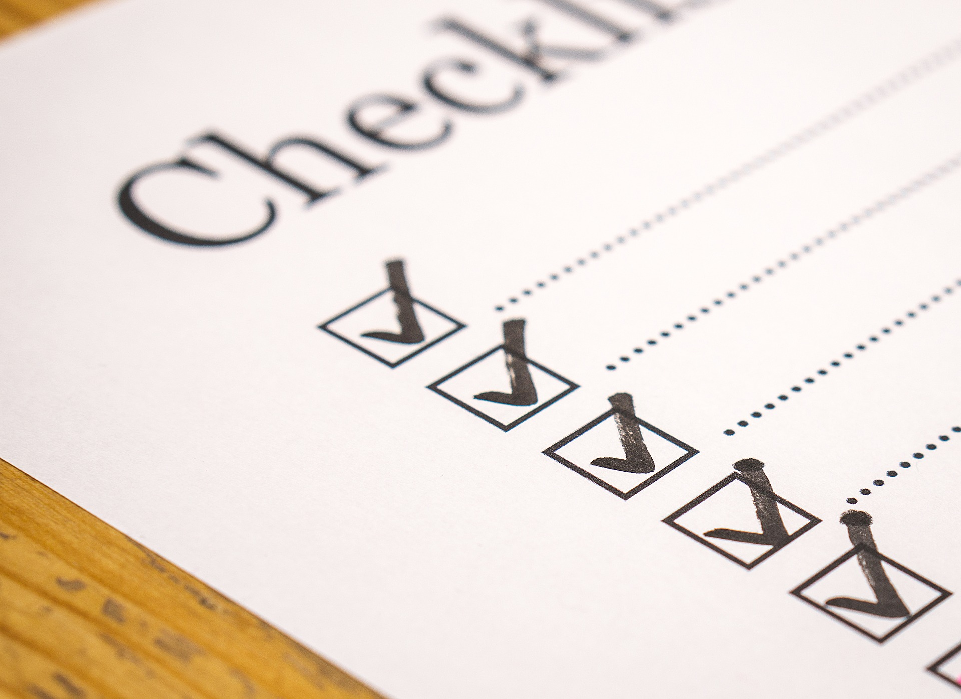 Quality inspection check list one should follow while receiving the car from the service centre