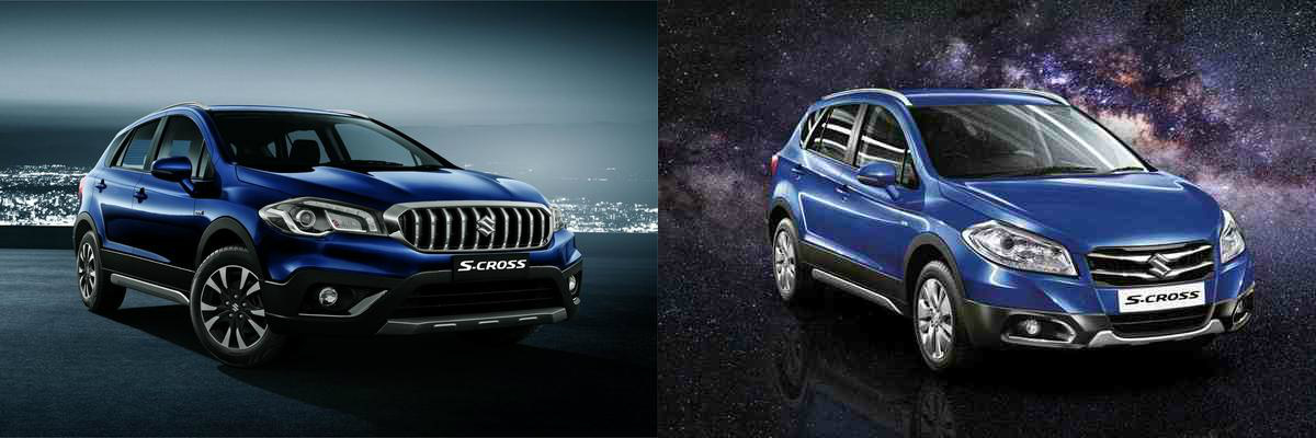 COMPARISON OF THE OLD AND NEW S-CROSS FROM MARUTI-SUZUKI