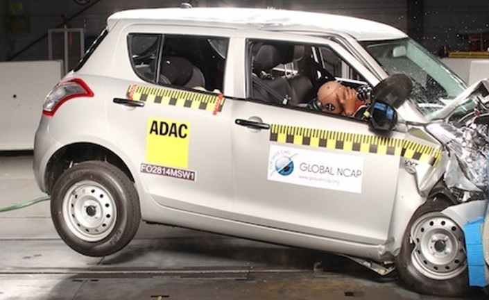 From October 2017 crash test is mandatory for all new cars