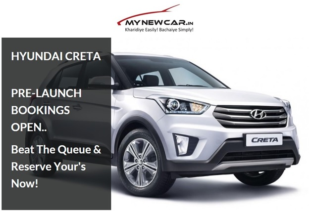 "MYNEWCAR.IN receives more than 700 Enquiries to Book the most-awaited SUV ""Hyundai Creta"" Online – IndianAutosBlog"