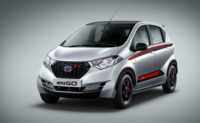 Datsun REDI-GO Limited Edition Launched AT 3.93 lakhs
