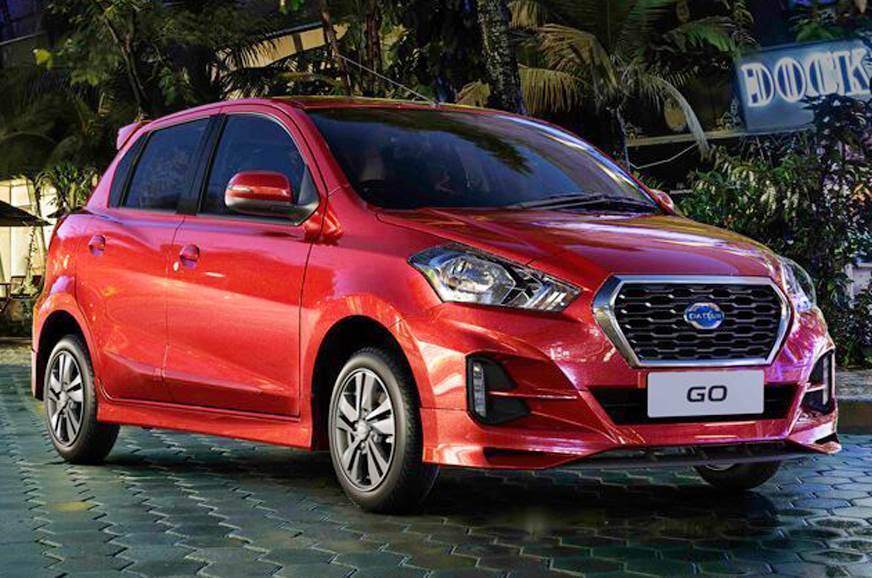 Spotted Testing: Facelifts of the Datsun Go and the Go Plus