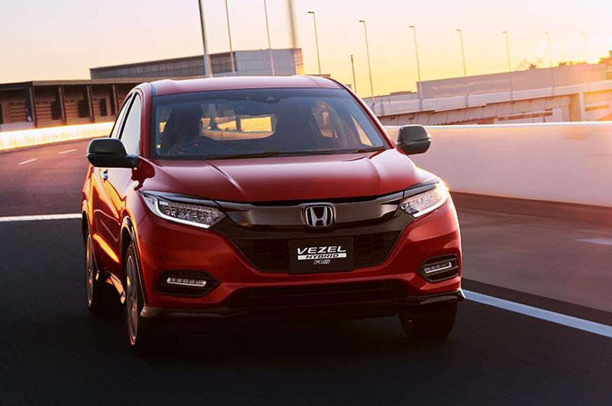Honda To Reveal The Facelight Of The HRV.