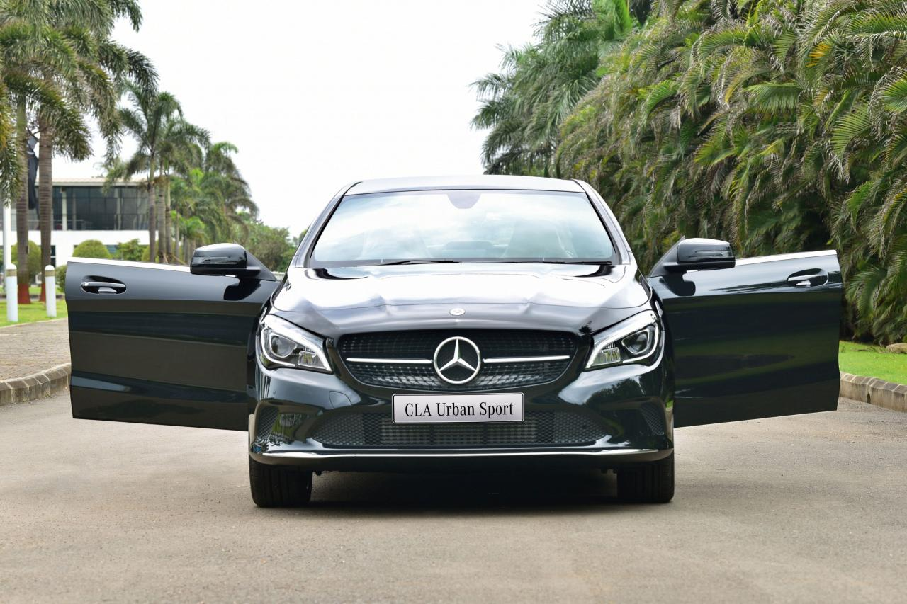 LAUNCHED: MERCEDES BENZ CLA URBAN SPORT