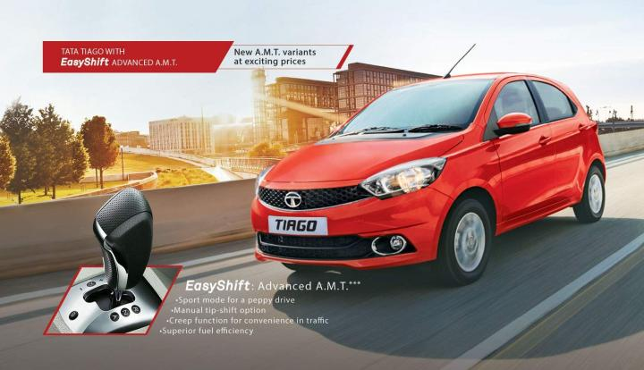 Tata Tiago AMT launched in XTA trim in India