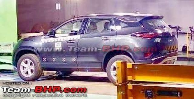 Tata Harrier production model leaked and its booking have been commenced