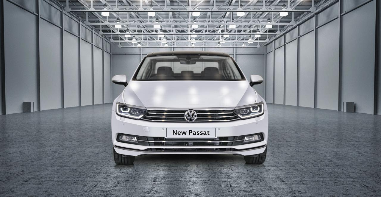 Volkswagen PASSAT to be launched on the 10th of October in India