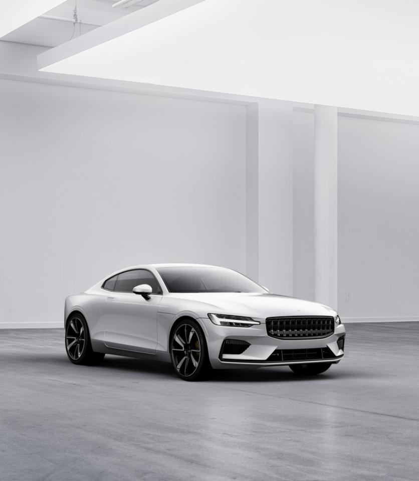 Polestar unveils its first car, the Polestar 1