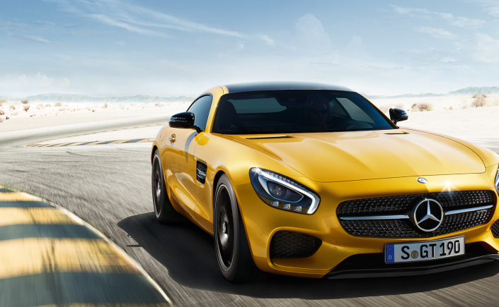 Mercedes-AMG GT to Be Launched in India by 2015 End