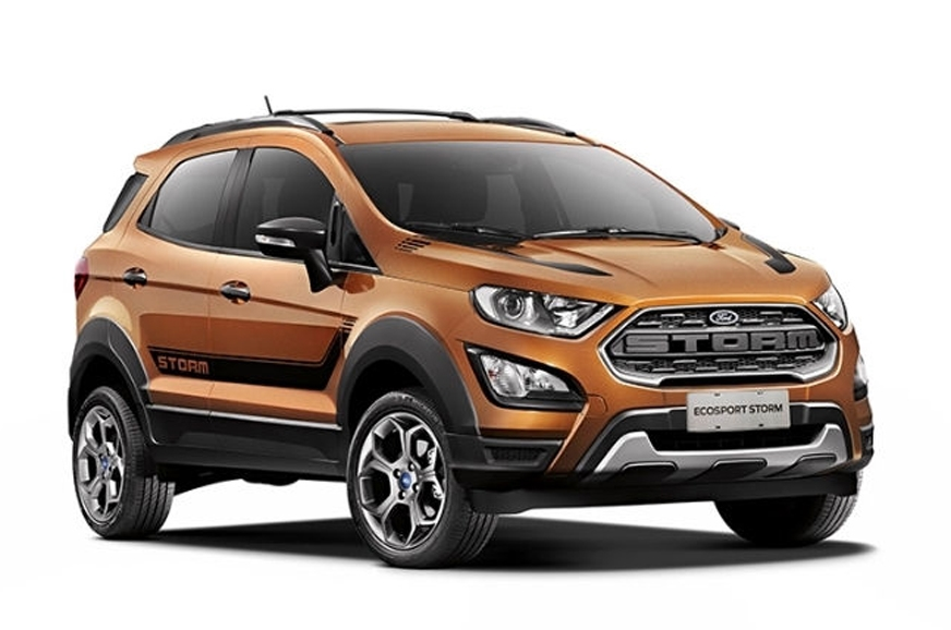Ford Unveils The EcoSport Storm For The South American Market.