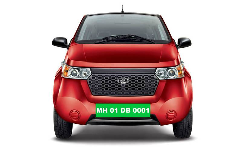 Electric Vehicles to get green colour registration plates