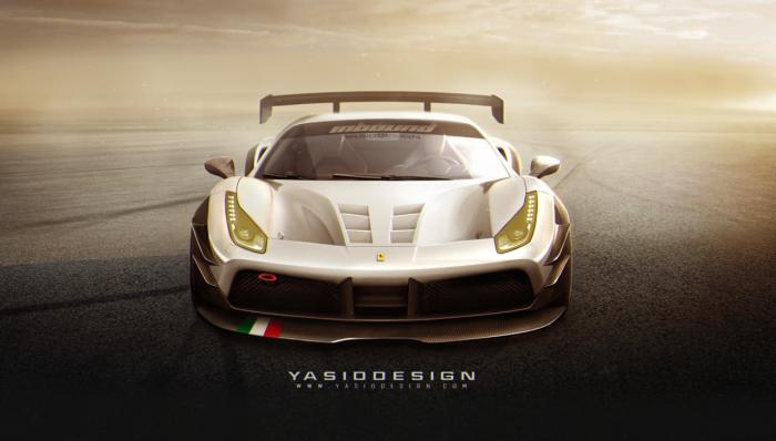 Ferrari confirms GT3 version of 488 GTB