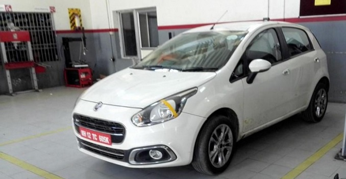 Abarth Punto might be on its way to India