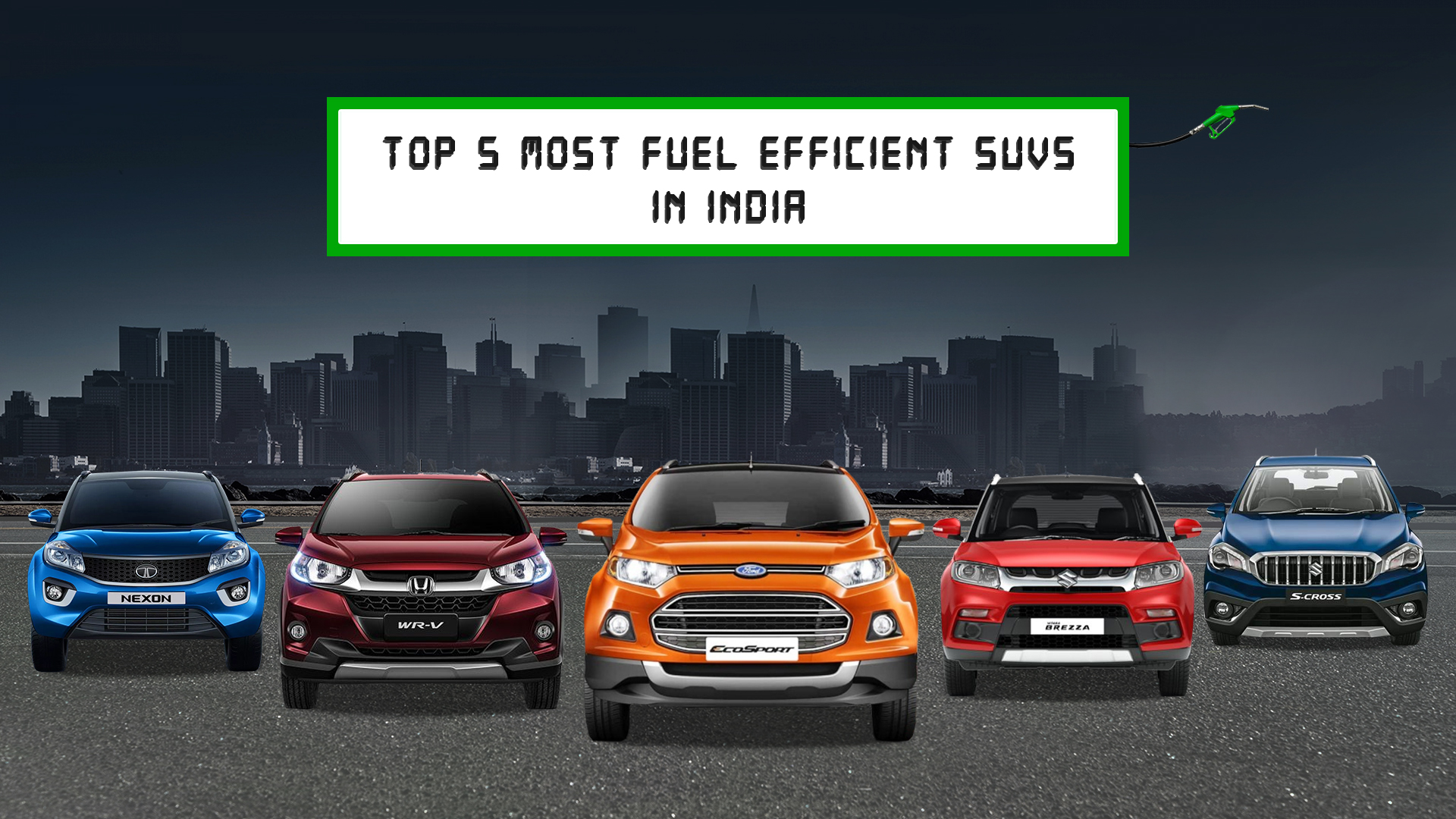 Top 5 Most Fuel- Efficient SUVS In India