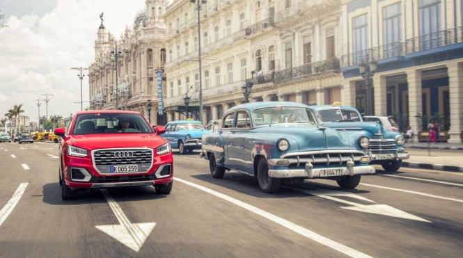 After 66 Years, A New Car Called Audi Q2 Launched In Cuba (50 Mesmerising Photos)