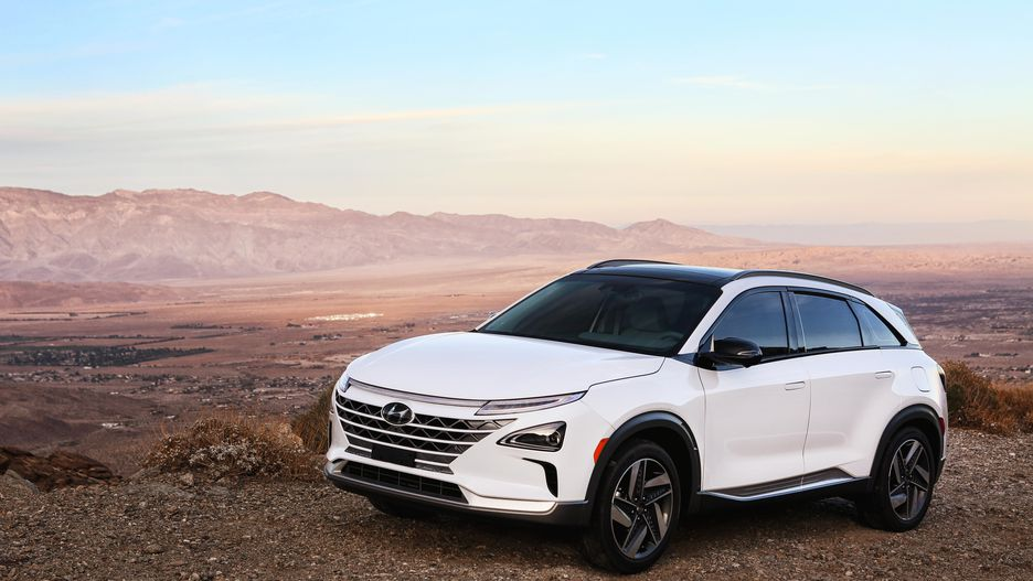 Hyundai Unveils The Nexo For The First Time In India.