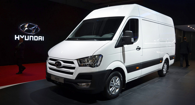 Hyundai's H350 enters production