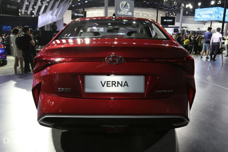 Hyundai Verna Facelift Revealed