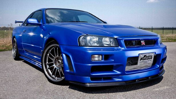 Paul Walker's 550bhp Skyline is for sale
