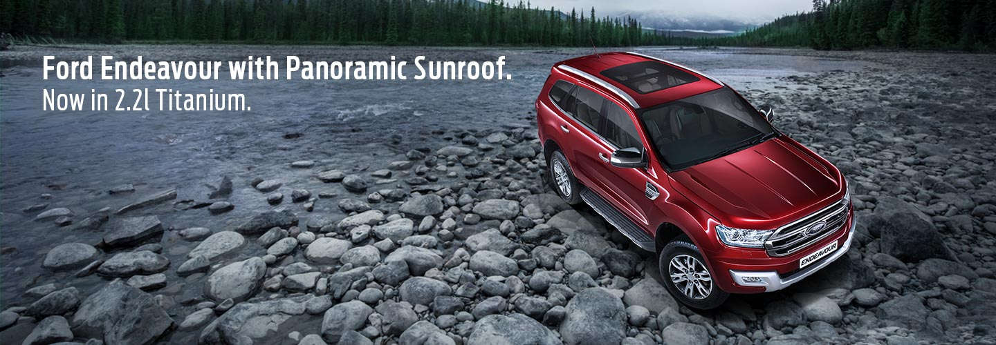 Ford Endeavour 2.2 litre Titanium Variant Now Gets A Sunroof