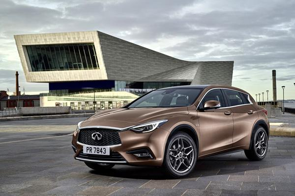 Infiniti Q30 luxury hatchback revealed