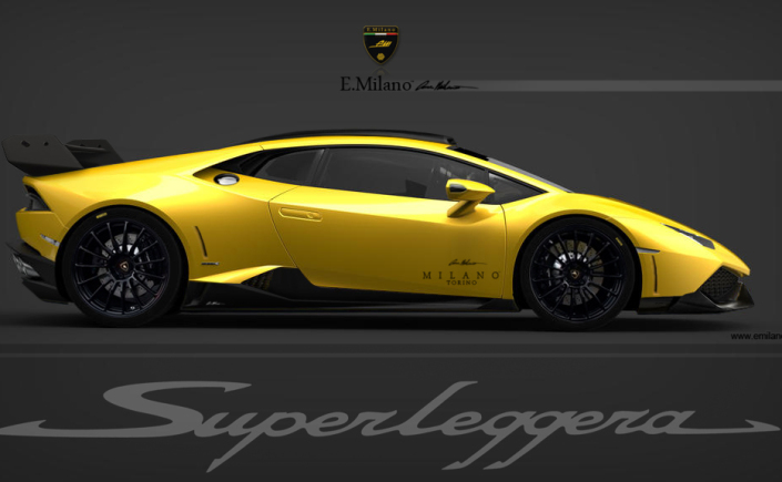 Lamborghini Huracan SuperLegerra in the making