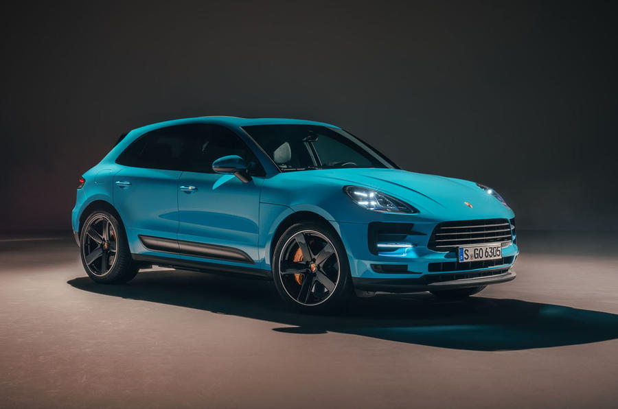 Porsche has unveiled the Updated Macan