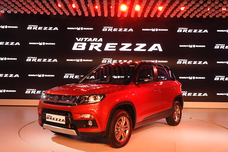 Maruti Suzuki Launches Vitara Brezza at Rs 6.99 lac (Ex-Showroom, Delhi)