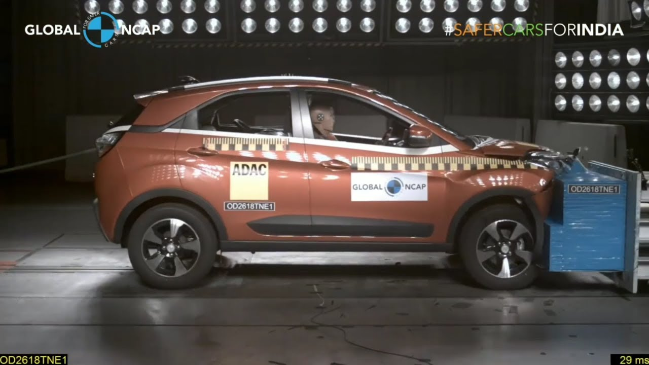 Tata Nexon bags four-star Global NCAP rating