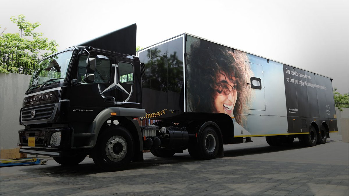 Mercedes-Benz Launches Service On Wheels Initiative In India For Tier II And III Markets