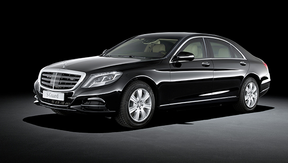 Mercedes Benz S600 Guard launched