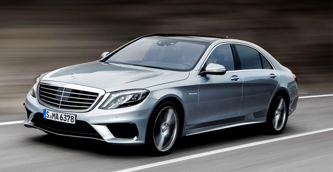 Mercedes-Benz S63 AMG Sedan to be Launched in India on August 11