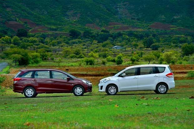 9 Points Comparison: Maruti Suzuki Ertiga VS Honda Mobilio