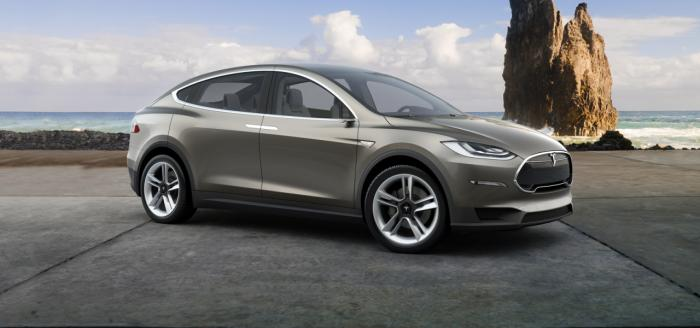 Tesla Model X launch in September