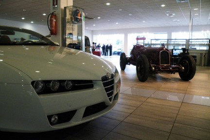 Renovated Alfa Romeo museum ready for visitors